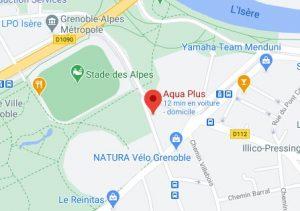 accès Aqua +, centre de kinésithérapie, Grenoble