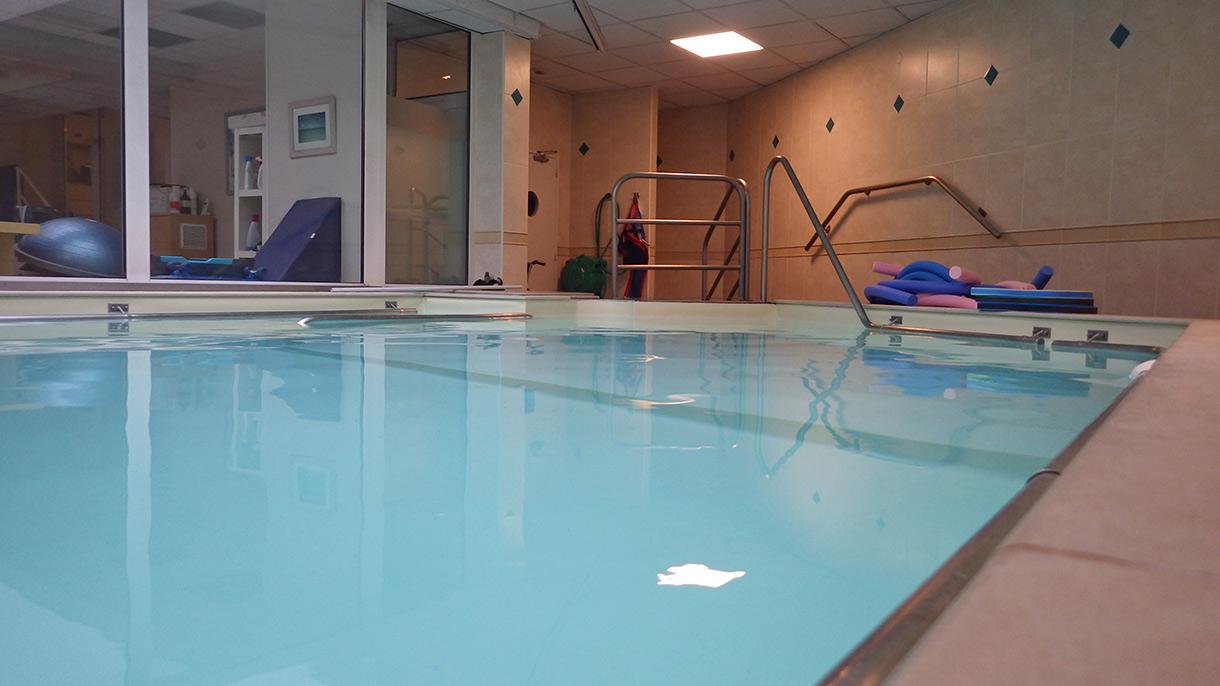 piscine de balnéothérapie à Grenoble